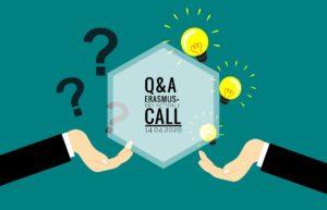 Q&A on Erasmus+ Key Action 2 call @ Microsoft Teams
